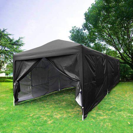 ubesgoo  ez pop  canopy gazebo party tent  sidewalls  mesh windows  waterproof