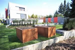 Gestaltungstipps Moderner Garten : moderner garten mit gabionenelementen ~ Whattoseeinmadrid.com Haus und Dekorationen