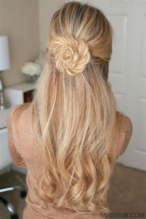 Flower Updo Hairstyles by Fishtail Braid Flor Braids Hair Styles Flower Braids