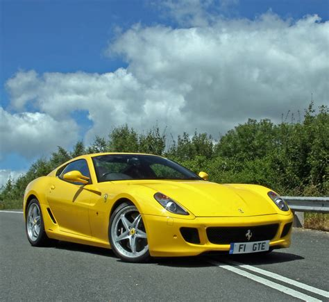 Yellow Ferrari Car Pictures Images â Super Yellow