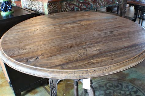 crank dining table iron industrial