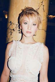Short Blonde Jennifer Lawrence