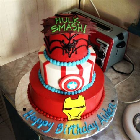 Permalink to Awesome Picture Of Superman Birthday Cake