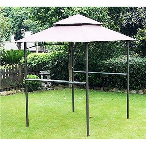 grill gazebo canopy replacement canopy for two tiered grill gazebo garden