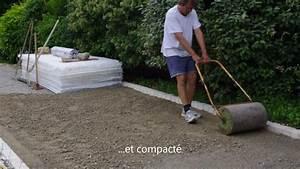 Allée En Gravier Pour Voiture : 2013 pose de stabilisateur alv ol chez un particulier ~ Premium-room.com Idées de Décoration