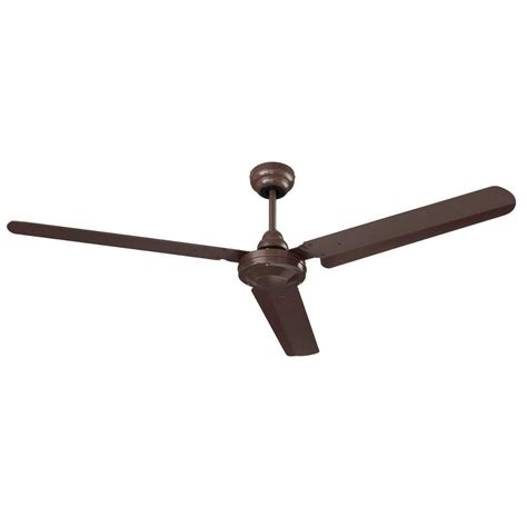 home depot ceiling fans nutone commercial series 56 in indoor brown ceiling fan