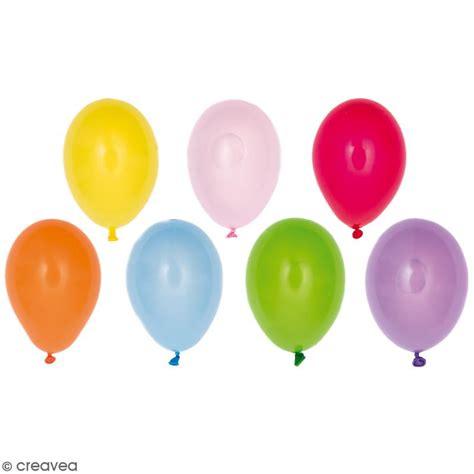 monter cuisine mini ballons de baudruche design yey multicolore