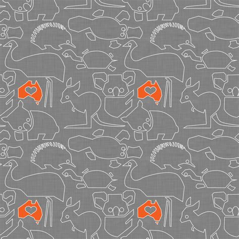 Fabric For Curtains Australia by 10 Australian Animal Fabrics Spoonflower
