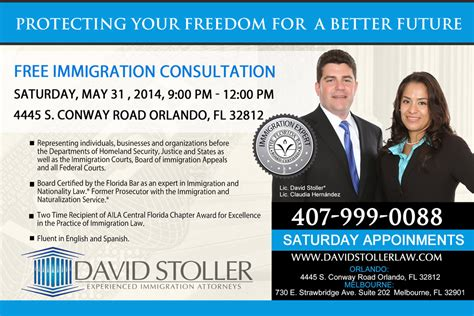 immigration consultation david stoller law firm