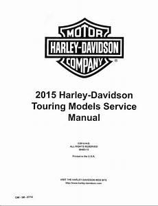 2015 Harley-davidson Touring Service Manual