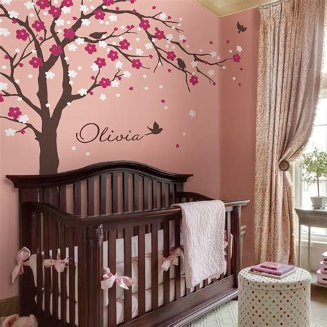 Looking for a good deal on cherry wall decor? Modern Cherry Blossom Vinyl Wall Stickers Tree With Flowers Wall Art Decals Kids Baby Room ...