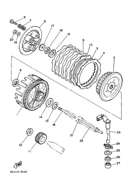 Yamaha Blaster Fiche Diagrams Part Number