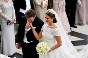 brautkleider schwanger swedish royal wedding see all the regal glitz photos huffpost