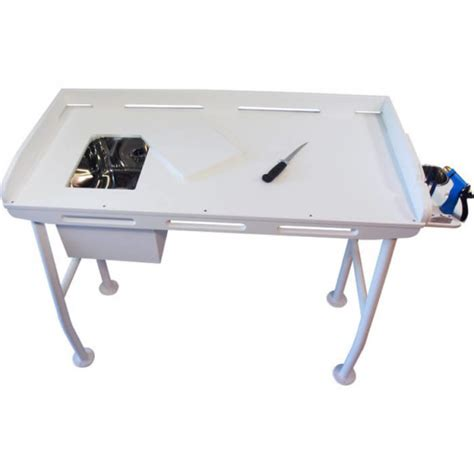 aluminum fish cleaning table upgrade your dockside fillet table on the water