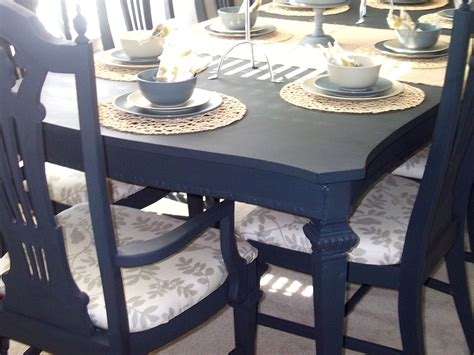 navy blue kitchen table set paint dining table last but not least let s