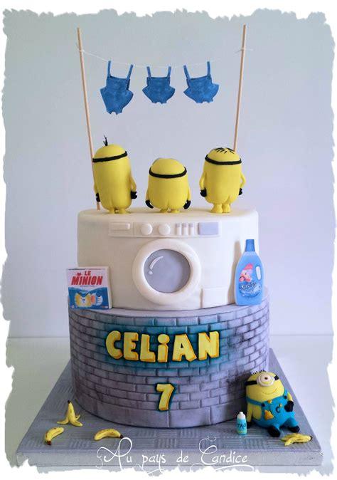 jeux cuisine gateau gâteau minion 2ème version au pays de candice