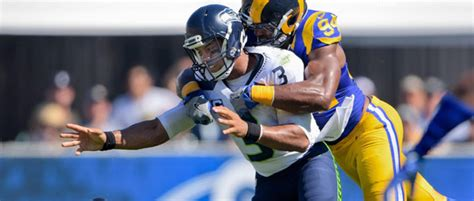 la rams beat seahawks  home opener nbc southern california
