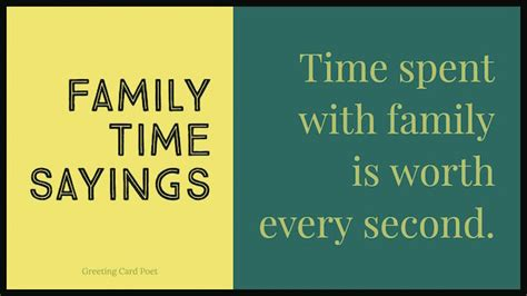 Family Time Quotes To Reflect On And Share