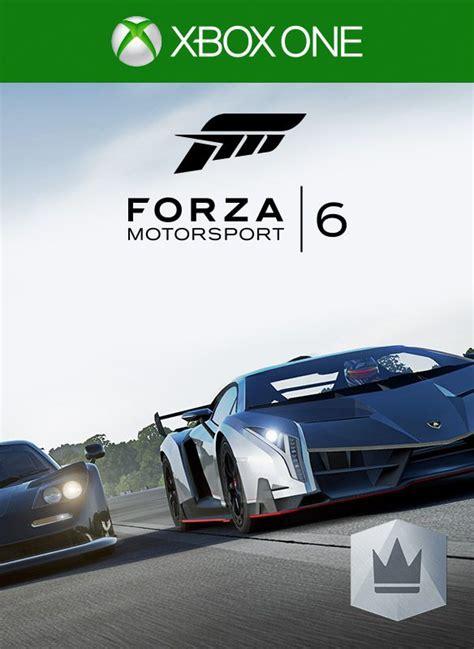 forza motorsport 6 xbox one forza motorsport 6 vip 2015 xbox one box cover