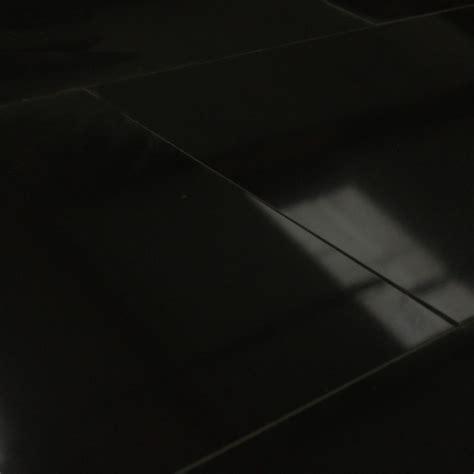 carrelage sol poli noir 30x60 cm carrelage brillant