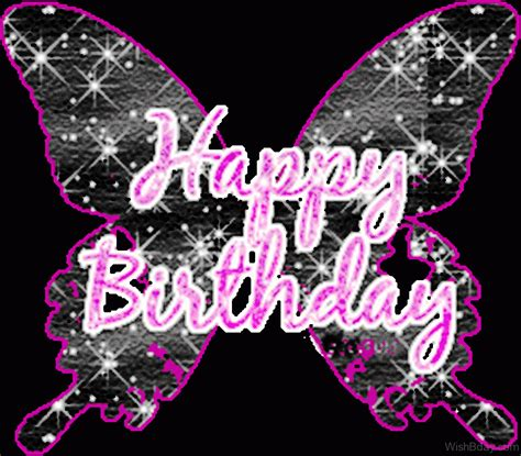 Sparkling Image 50 Butterfly Birthday Wishes