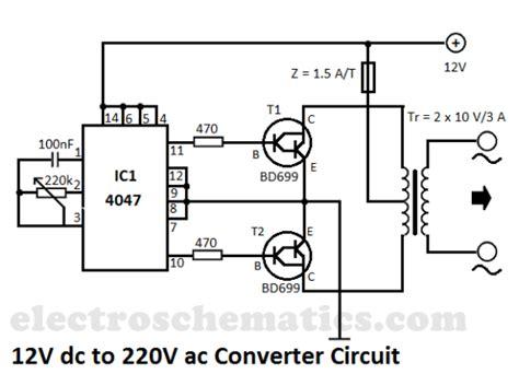 Converter Circuit Schematic Diagram