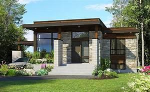 Plan 90262pd  Compact Modern House Plan
