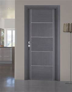 Porte Interieur Grise : porte interieure grise ~ Mglfilm.com Idées de Décoration
