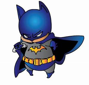 Chibi Batman Colored by CliffEngland on DeviantArt
