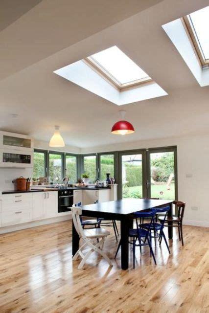 beautiful dining areas  skylights shelterness
