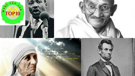World Top 10 Most Influential People In History Youtube