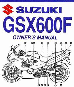 2005 Suzuki Gsx600f Katana Motorcycle Owners Manual
