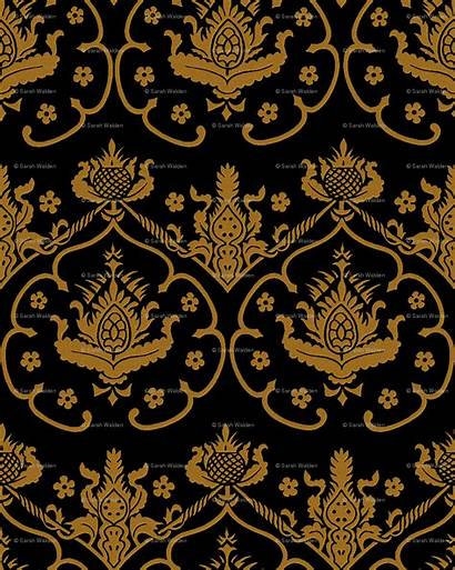 Gold Damask Wallpapers Designs Source