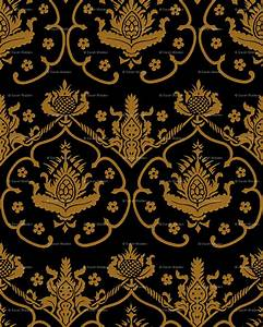 Download Black And Gold Wallpaper Damask Gallery