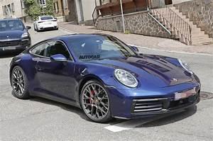2019 Porsche 911 Images Of New 3999239 Model Leak Autocar