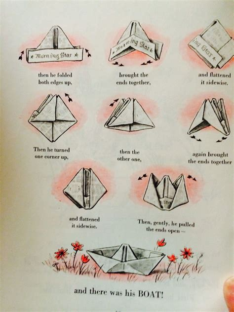 How To Make A Paper Boat Curious George by Boats Newspaper And Imagination On