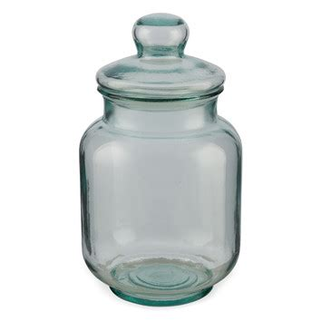 large glass jars with lids large recycled glass jar with lid temple webster 8888