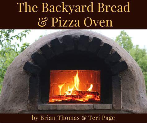 backyard bread pizza oven