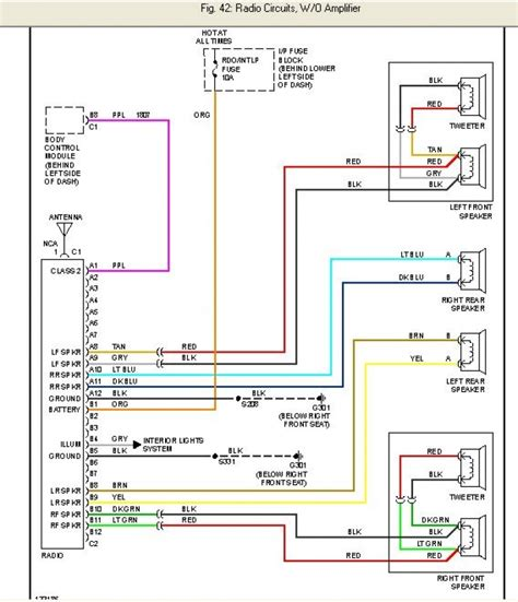 2000 chevy cavalier electrical wiring diagram electrical