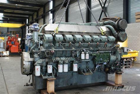 Mitsubishi Marine Engines by Used Mitsubishi S16r Mpta Marine Engine Units Year 2008