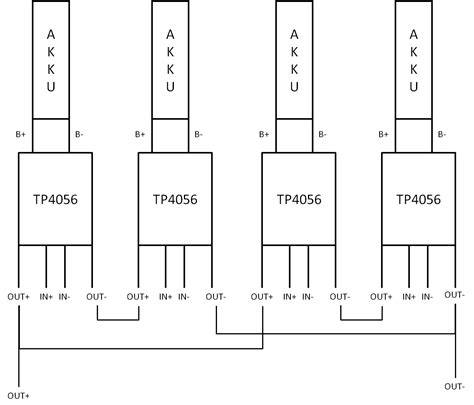 tp li ion laderegler akkus parallel und seriell