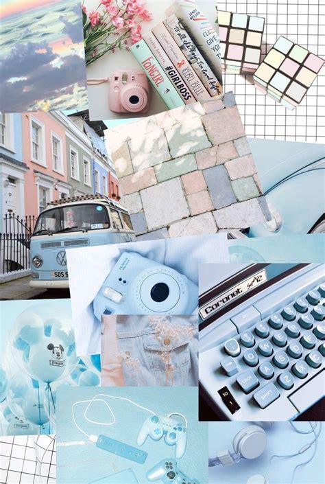 pastel blue aesthetic background biru tumblr aesthetic
