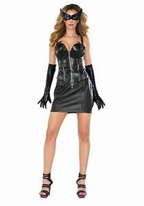 Women39s Deluxe Catwoman Corset Costume