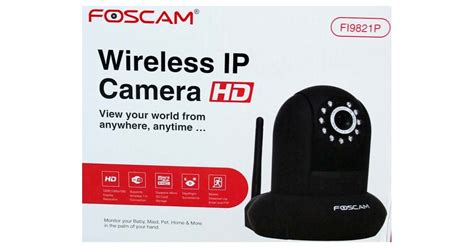 Foscam Ip Review Foscam Fi9821p 720p Hd Wireless Ip Review