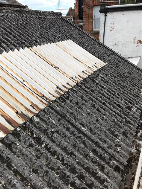 asbestos cement roof removal