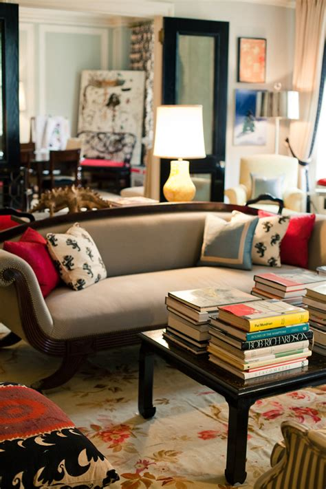 No Surprise Here, Kate Spade's Home Is Amazing!  The. Bookshelf Room Divider. Hand Mirror Wall Decor. Home Decor Design. Living Room Window Treatments. Home Decorators Warehouse. Decorative Wall Mirror. Couches For Small Living Room. Seaside Home Decor