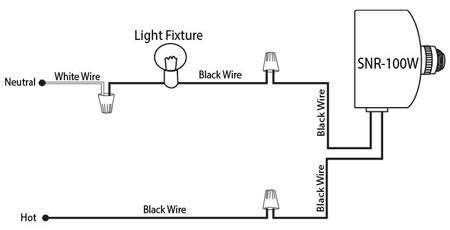 snr 100w photocell wiring diagram ceilingfanswitch
