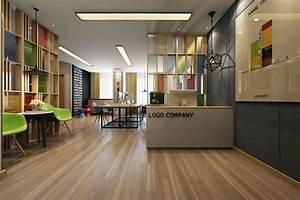 Work, Modern, Office, Interior, 3d, Model