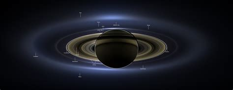 Cassini Spacecraft Provides New View Saturn Earth
