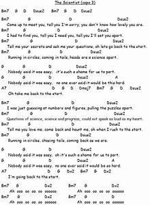 The Scientist Ukelele Songs Ukulele Songs Acoustic